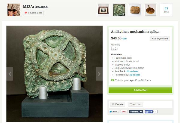 replike arheoloških pronalazaka